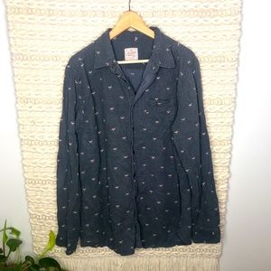 American Eagle Heritage Axe Button Down